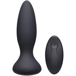 Thrust Adventurous Thrusting Butt Plug - Black