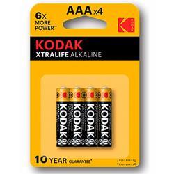 Alkaline Batt. Kodak Xtralife AAA LR3 (4) - Cl. 10