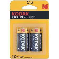 Alkaline Batteries Kodak Xtralife C LR14 (2) Cl.10