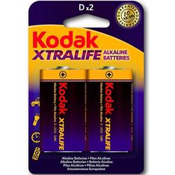 Alkaline Batteries Kodak Xtralife D LR20 (2) -Cl10