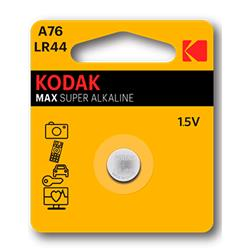 Alkaline Battery Kodak Ultra A76 LR44 (1) - Cl.60