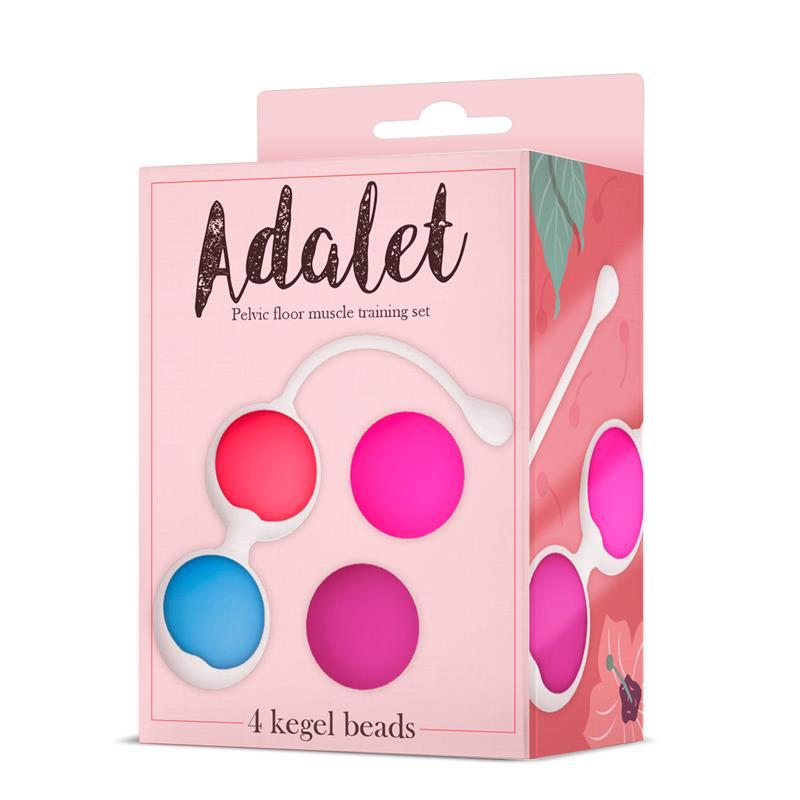 Kit 4 Kegel Balls Silicone