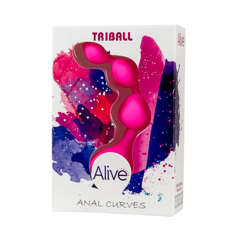Anal Chain Triball Pink