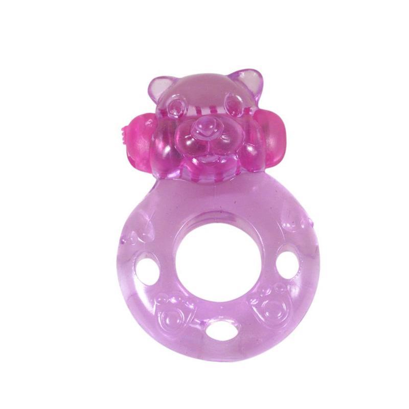 Vibrating Ring Bear Pink