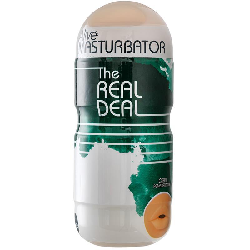 Masturbator The Real Deal Mouth 16 cm