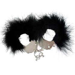 Menottes plumes black-Esposas