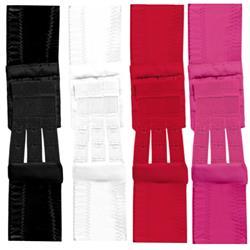 Flexible Bra Extenders 3-hook - 4 colors