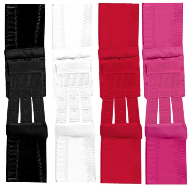 Flexible Bra Extenders 3-Hook 4 colors