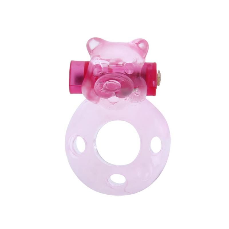 Cock Ring with Vibrating Bullet Bear