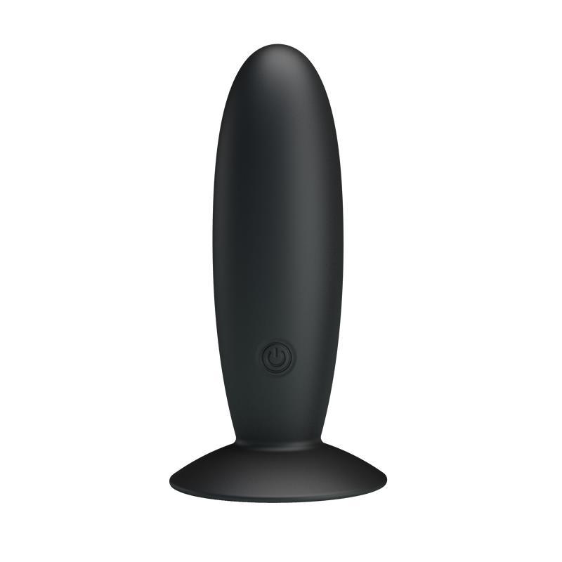 Pretty Love Vibrating Butt Plug Anal Black