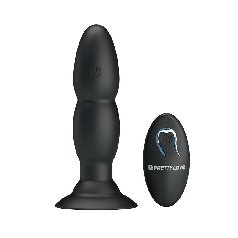 Anal Plug 4 Vibration and Rotation