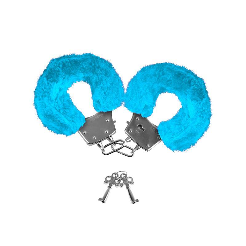 Neon Esposas Forradas Color Azul de NEON #satisfactoys