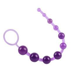SASSY Anal Beads-Purple