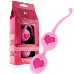 Feelz toys - desi love balls pink