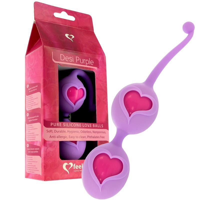 Feelz Toys Love Balls Desi Purple