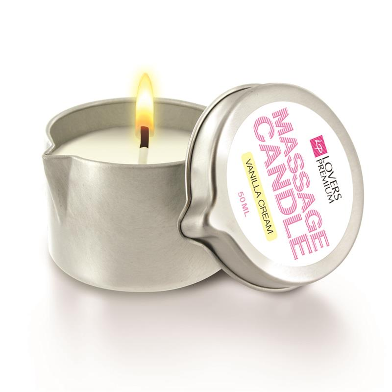Loverspremium - Massage Candle Vanilla Cream