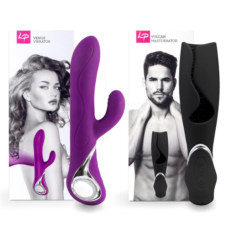 Set for Couples Venus and Vulcano Purple
