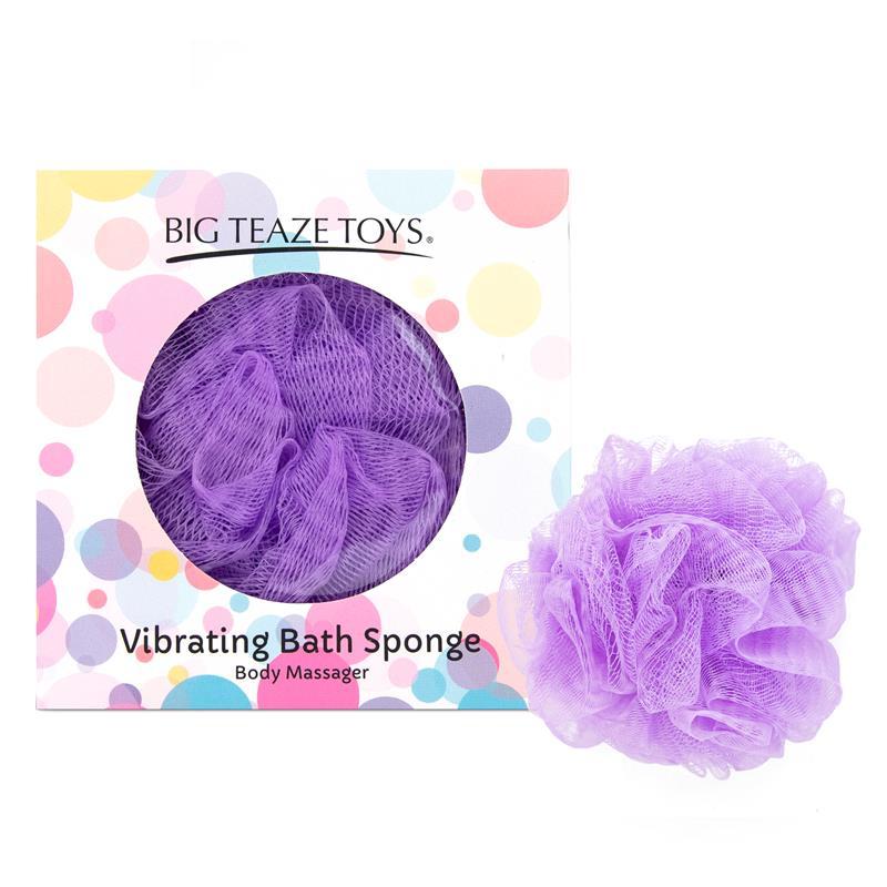 Bath Sponge Vibrating Purple