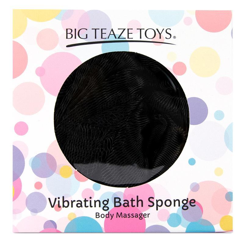 Bath Sponge Vibrating Black