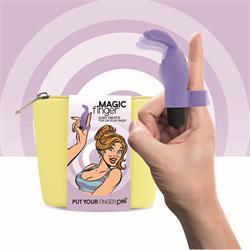 Magic Finger Vibrator Purple