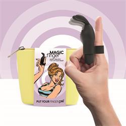 Magic Finger Vibrator Black