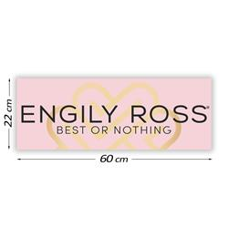 Cartel Promocional Engily Ross 60 cm. x 22 cm.
