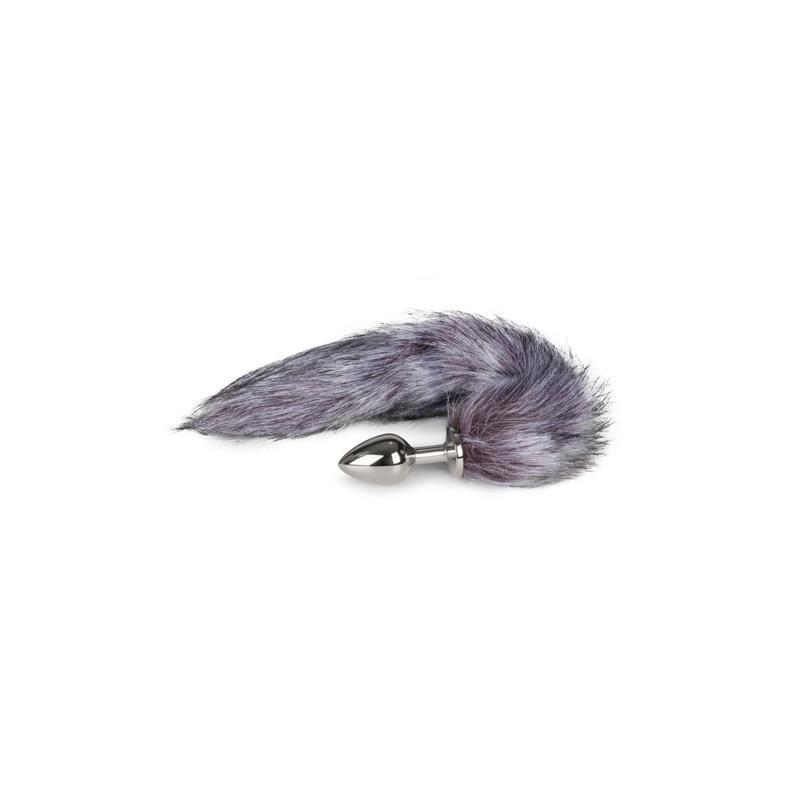Fox Tail Plug No. 6 - Silver