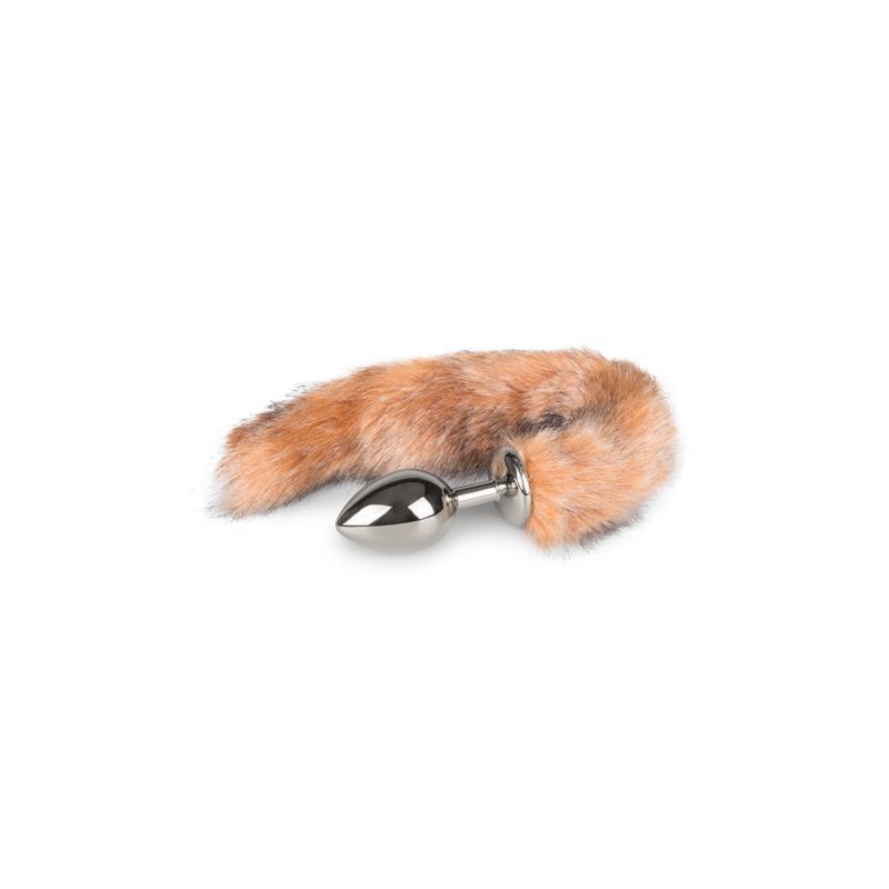 Fox Tail Plug No. 3 - Silver