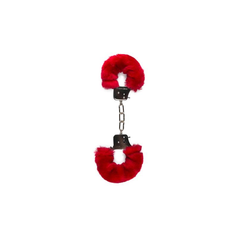 Furry Handcuffs - Red