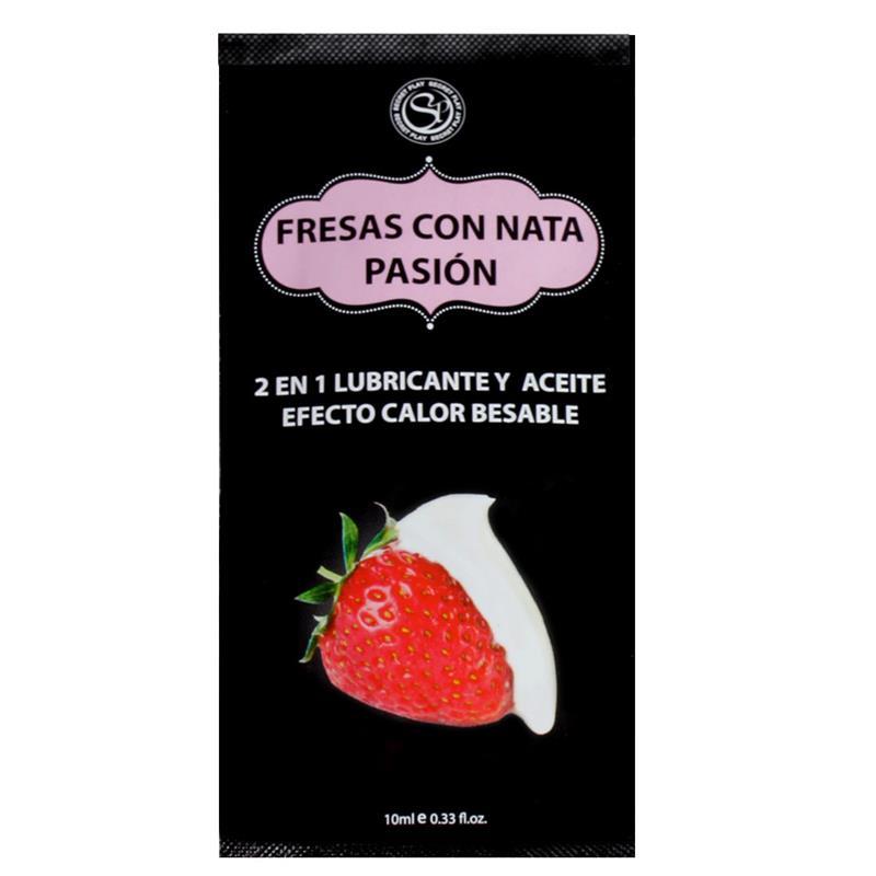 Secret Play Pack 12 Monodose Arome Cream and Strawberry