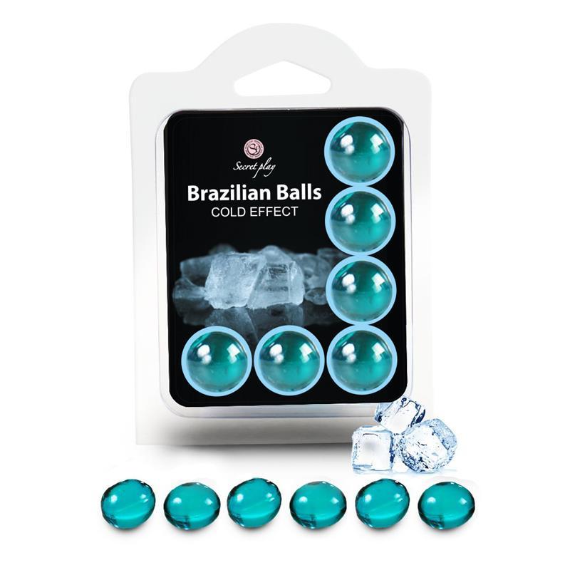 Brazilian Balls Set 6  Cold Effect