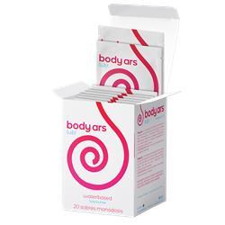 Caja 20u. Sobres Monodosis Gel B.A. Natural 4 ml.