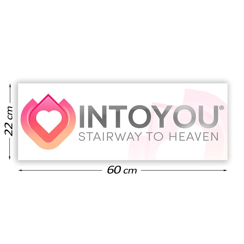 Promotional Sign Intoyou 60 cm x 22 cm