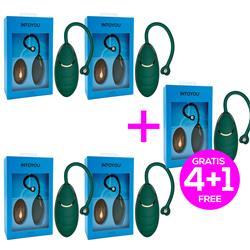 Pack 4+1 Anda Kinetic Exercise Egg w/Remote Blacku